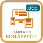 Template Bon Appetit Documentation