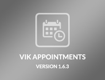 VikAppointments 1.6.3 Release