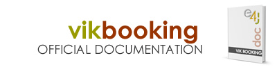 VikBooking Documentation