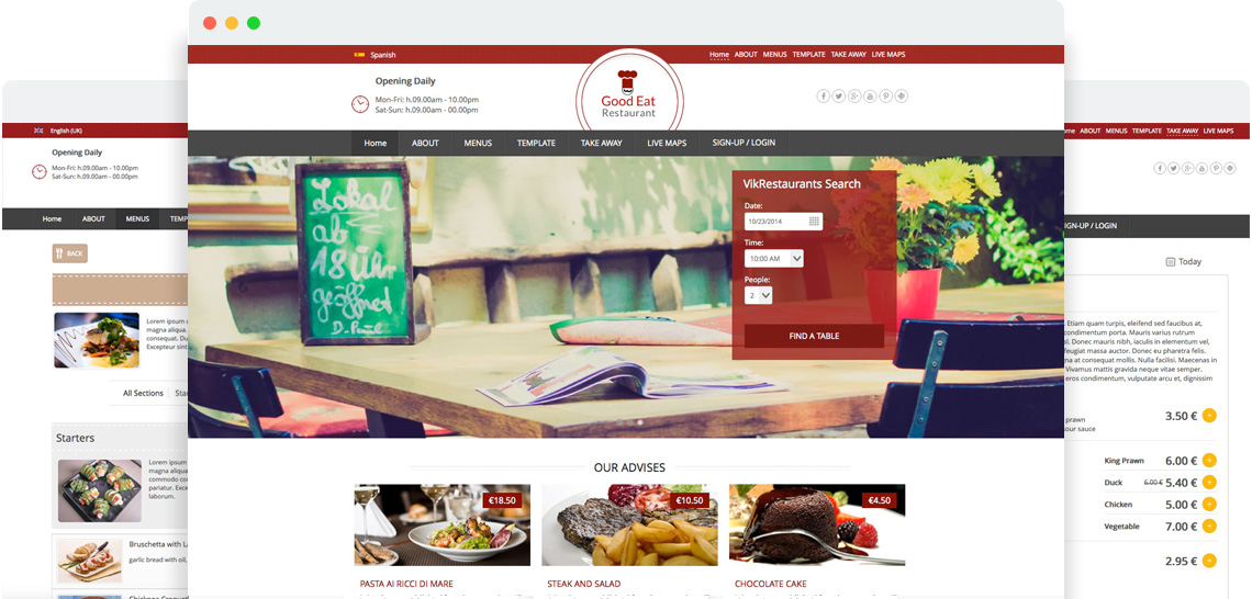 bon appetit - Templates for Joomla