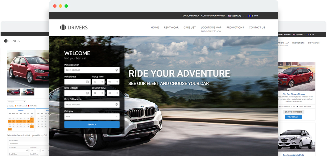 Drivers - Templates for Joomla