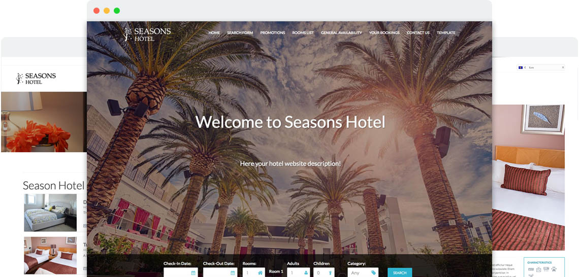 Seasons - Templates for Joomla