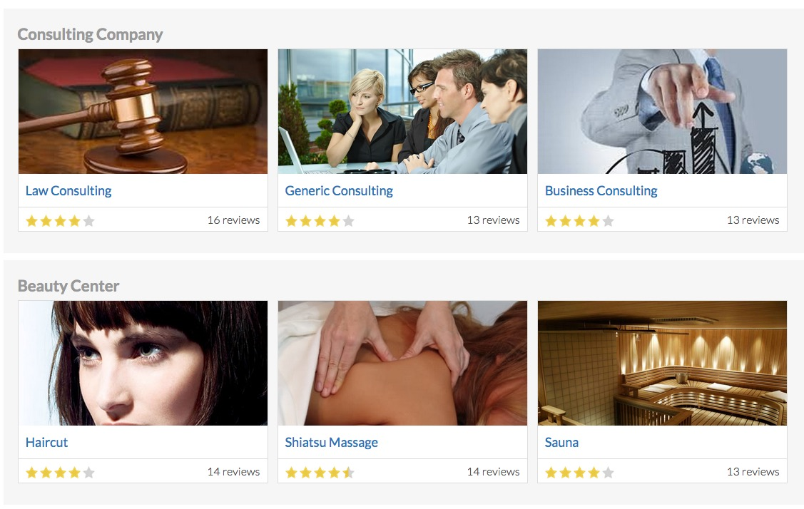 Vik Appointments - Employees FrontEnd View