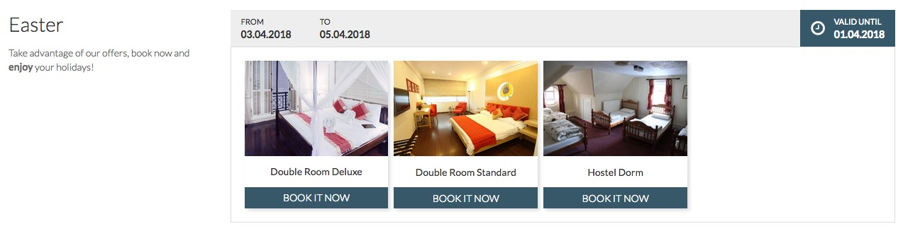 VikBooking - Room Special pricing