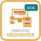 Template MediCenter - documentation