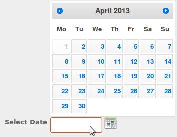 working jquery ui calendar example